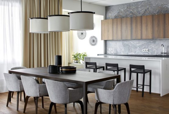 Nowoczesna aranżacja minimalistycznego mieszkania